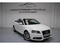 2010/60 AUDI A3 CABRIOLET 1.2 TFSI 105PS S LINE, FULL SERVICE HISTORY