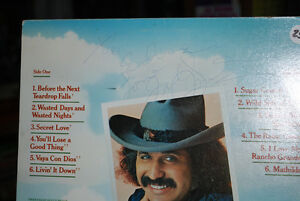 AUTOGRAPHED RECORD ALBUM FROM THE LATE FREDDY FENDER Windsor Region Ontario image 2