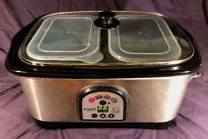 New slow cooker.