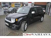2015 Jeep Renegade M-JET LIMITED ** 9 SPEED AUTOMATIC 4X4** Diesel black Automat