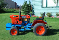 KUBOTA B 6100E DIESEL TRACTOR FOR SALE