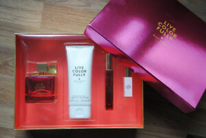 Kate Spade LIVE COLORFULLY Perfume Set BRAND NEW