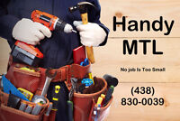 Handy MTL - Furniture Assembly, Handyman, & Electrical Services
