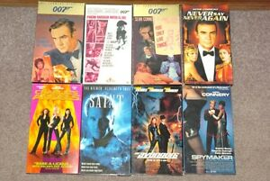 Spy Thrillers VHS tape collection
