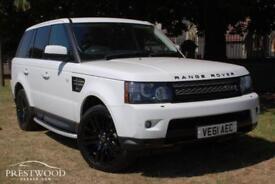 2011 / 61 LAND ROVER RANGE ROVER SPORT 3.0 SDV6 HSE AUTO [255 BHP] 4X4 - WHITE
