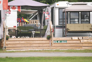Water Front Trailer in Glenalee trailer park White Lake