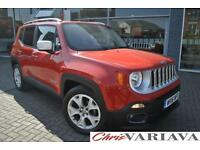2016 Jeep Renegade 1.4 Multiair Limited 5dr DDCT ** AUTOMATIC + FULL LEATHER + S