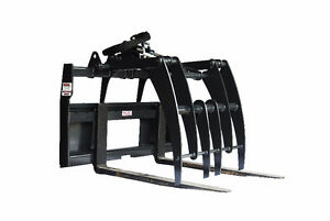 Jenkins HEAVY DUTY Pallet Forks Grapple Skidsteer Attachment Sarnia Sarnia Area image 3