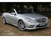 2012 / 62 MERCEDES E350 SPORT 3.0 CDI BLUEEFFICIENCY CABRIOLET AUTO [265 BHP]