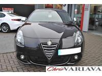 2014 Alfa Romeo Giulietta 1.4 TB MultiAir Sportiva Nav 5dr TCT Petrol black Auto