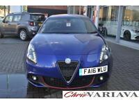 2016 Alfa Romeo Giulietta 1.4 TB MultiAir 150 Speciale 5dr Petrol blue Manual