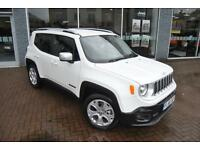 2016 Jeep Renegade LIMITED Auto 2016MY Petrol white Automatic