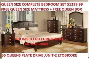 QUEEN BED,QUEEN SET ,DOUBLE BED FRAME