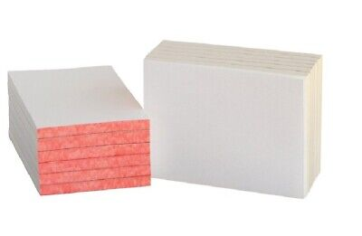School Smart Scratch Pad With Chipboard Back 4 X6 In 100 Sheets White Pack of 12 12 Pack Scratch Pad