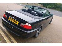 BMW 330CI CONVERTIBLE MSPORT E46 3 SERIES 10 MONTHS MOT 330 325 320 318 M SPORT