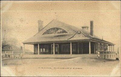 Simsbury Ct Casino C1905 Postcard