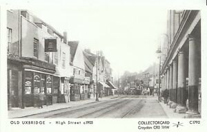 London-Postcard-Old-Uxbridge-High-Street-c1905-U852