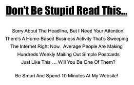 Get Paid Daily For Mailing Simple Little Postcards! No Experience Required Work From Home
