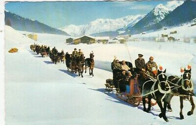 Davos, Schlittenfahrt nach Spinabad-Monstein u.Sertig-Dörfli gl1962 G4658