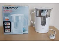 Kenwood Puresse water filter Kettle - near new condition. 2.2 Litre, 3KW - also a nornal kettle too.