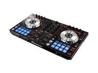 Pioneer DDJ-SR Serato DJ Controller with Serato & Tractor Software also free Deck Saver cover.