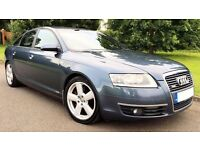 2006 CHEAP AUDI A6 SLINE 2.0 TDI REMAPPED AUTOMATIC 160BHP 1 OWNER LONG MOT A4 MERCEDES GOLF A3