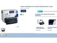 HP Printer Black toner (ink)
