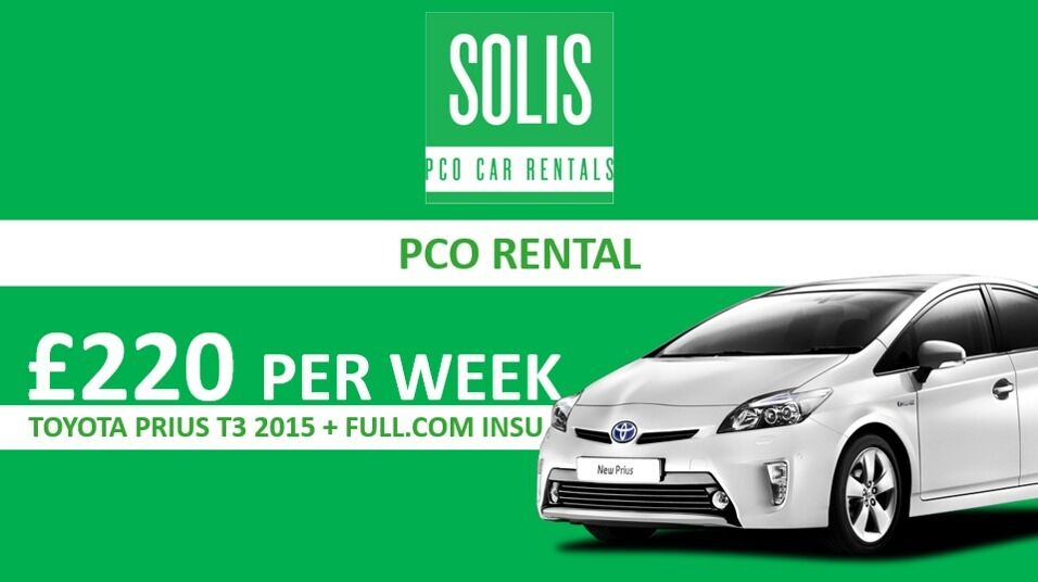 Uber Ready PCO Car/Minicab For Hire,Rent a Minicab/PCO Car,Prius/Insight PCO Car/Minicab For Hire