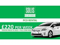 Uber Ready PCO Car/Minicab For Hire,Rent a Minicab/PCO Car,Prius/Insight PCO Car/ Rent to buy