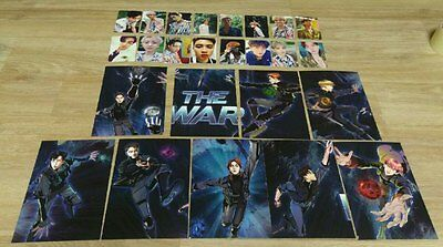 EXO 4th Album The War KoKoBop Official Photo Cards Full set (25pcs, A&B&Private)