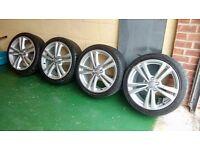 "Genuine Alloy Wheels Audi S-line 18"""
