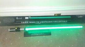 STAR WARS Master Replica Yoda Force FX lightsaber