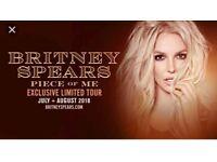 SELLING 2x Britney Spears tickets 02 London