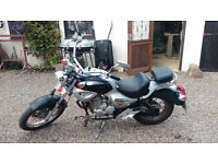 125 cc hipster with mot.
