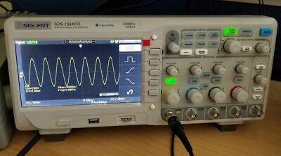 Siglent Sds1304cfl - 300 Mhz Oscilloscope 4ch1ext With 2 Gsas