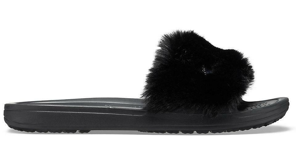 Crocs Sloane Luxe Slide Black