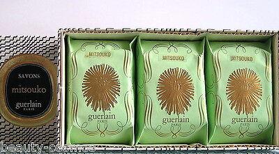 Guerlain  Mitsouko  3 x 80 g Savon / Seife  Neu OVP
