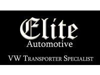 VW TRANSPORTER SPECIALIST WORKSHOP