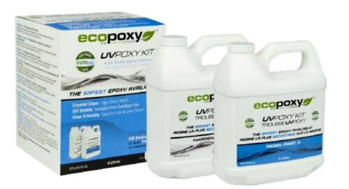 ECOPOXY UVPOXY 4 L KIT (Approximate US 1 gallon)
