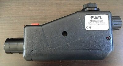 Afl Ofs 300-200c Optical Fiber Scope With Universal Adapter