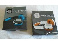 Headphones with built-in microphone Wired On Earphones Audio Sound System