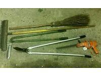 Rake/Besom Broom (£5 each item)