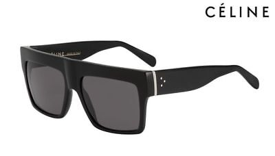 ☆ NEW Authentic Celine CL 41756  807 3H ZZ-Top Black Sunglasses RRP$520.00 ☆