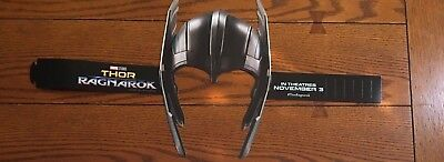 RARE THOR RAGNAROK Movie Promo Cardboard THOR Helmet