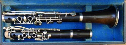 Vintage M. Lacroix Bb LP Albert Wood Clarinet Overhauled