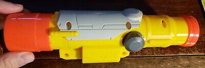 HTF Yellow Nerf N-Strike Longshot Longstrike TACTICAL SCOPE Sight Attachment