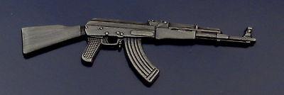 AK-47 Military Automatic/Semi Rifle Lapel Pin Russian Kalashnikov