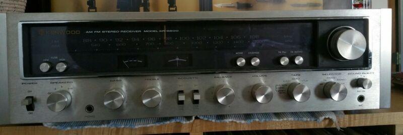 Vintage Working Kenwood KR-6600 AM/FM Stereo Receiver - Working  - VGC