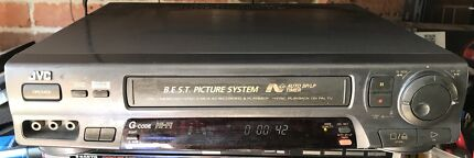 JVC 6 Head HiFi VCR Video Cassette Recorder VHS Player
