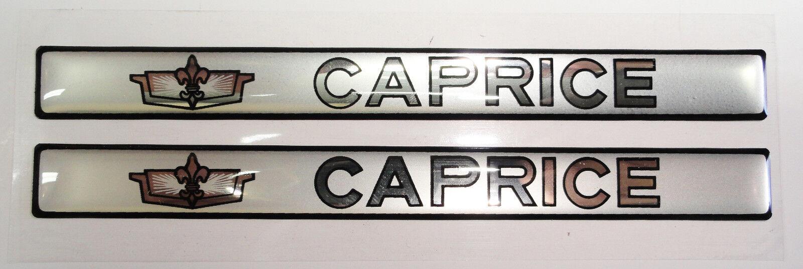 Vintage 80's 90's Automotive Door Handle Insert Accent Trim CAPRICE